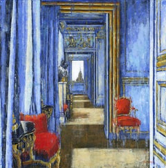 Parliament Passage Big Ben - Interior painting Contemporary Art 21st Century