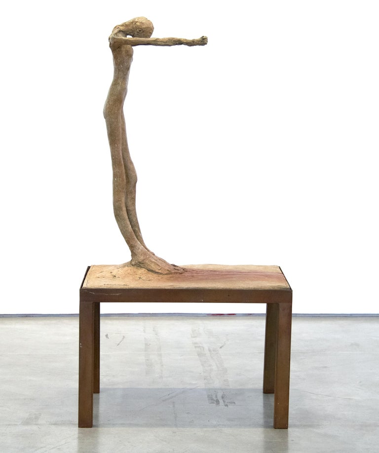 Figure #4 - Contemporary Sculpture by Nathan Oliveira