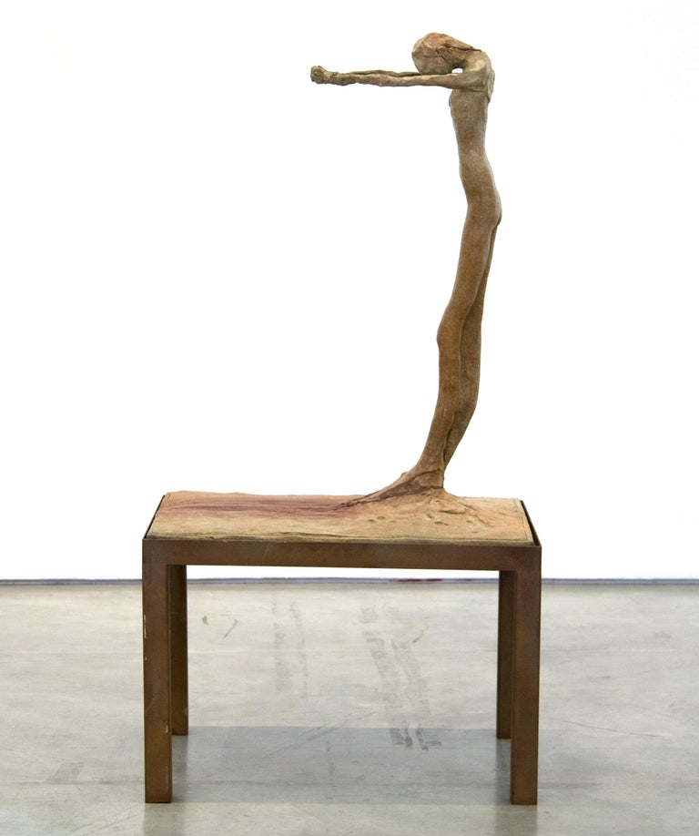 A sculpture by Nathan Oliveira.