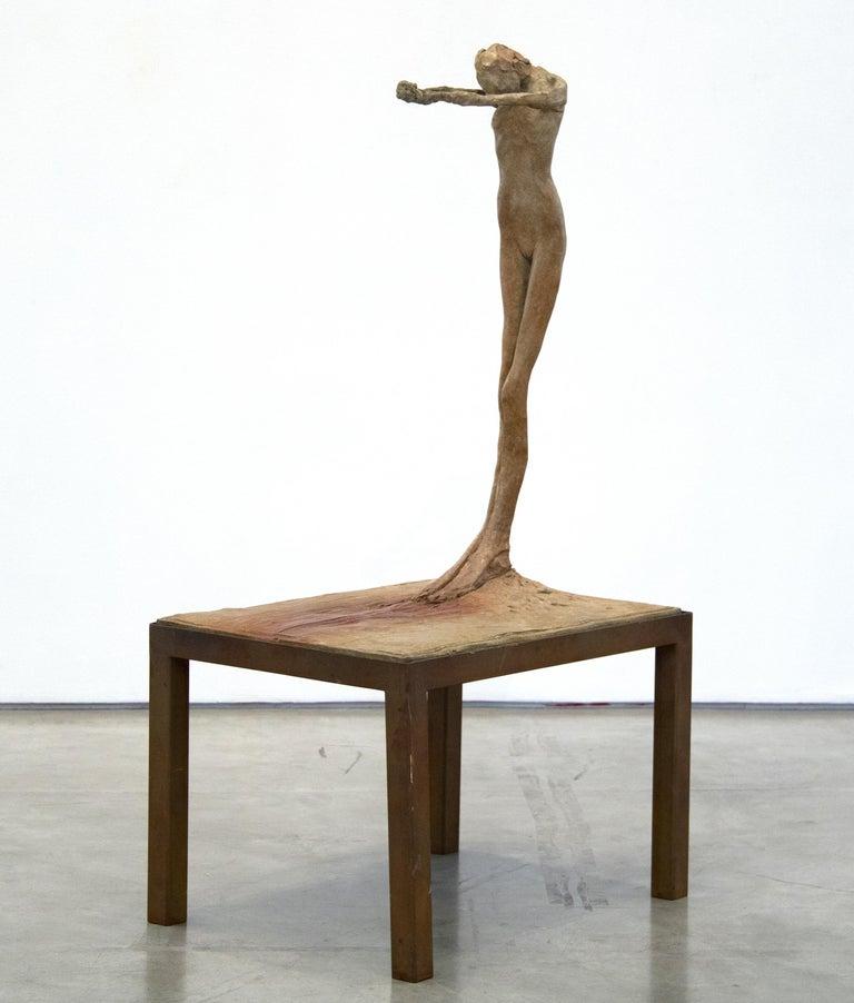 Nathan Oliveira Nude Sculpture - Figure #4