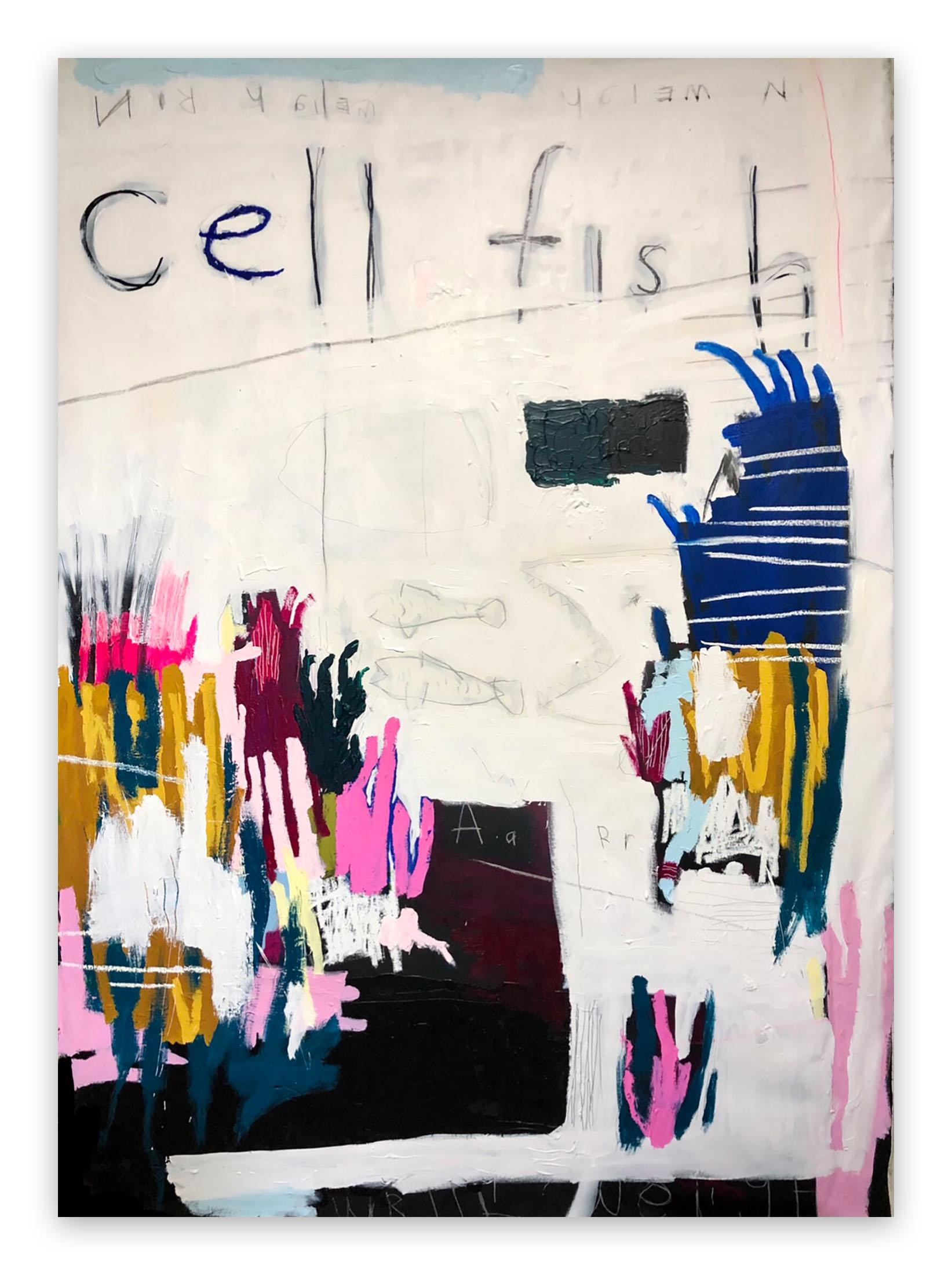 CellFish (Abstract painting)