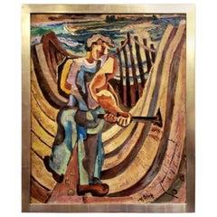 "Nathaniel Dirk ""Boat Builder"", Circa 1930's"