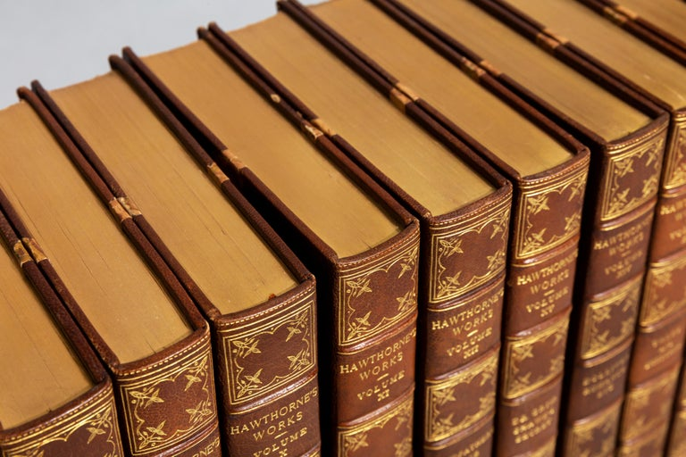 American Nathaniel Hawthorne, Complete Works For Sale