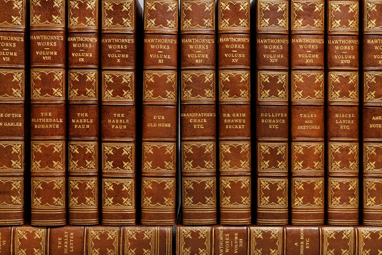 Nathaniel Hawthorne, Complete Works In Good Condition For Sale In New York, NY