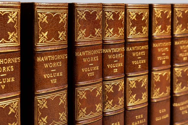 19th Century Nathaniel Hawthorne, Complete Works For Sale