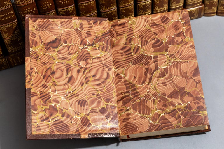 Leather Nathaniel Hawthorne, Complete Works For Sale