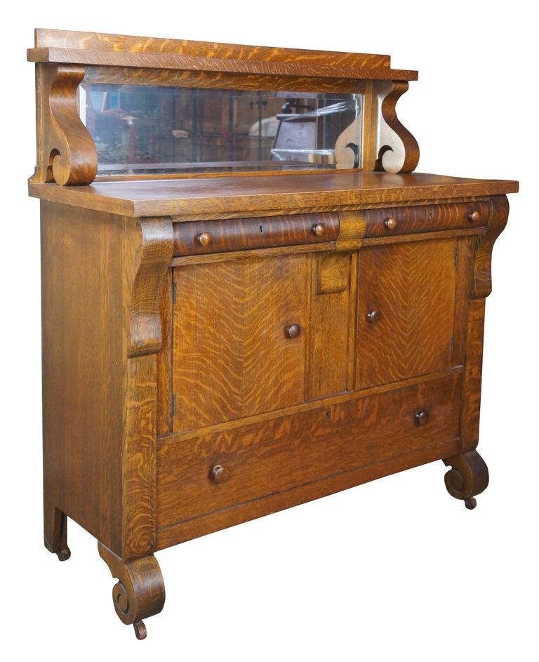 National Furniture Antique Empire, Antique Buffet Furniture Pieces