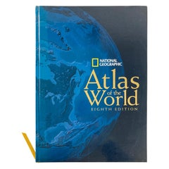 National Geographic Atlas of the World, Eighth Edition Hardcover Book