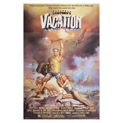 """National Lampoon's Vacation"" 1983 U.S. One Sheet Film Poster"