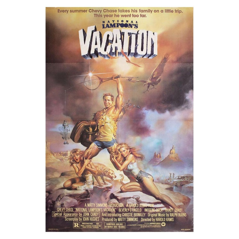 """""""National Lampoon's Vacation"""" 1983 U.S. One Sheet Film Poster For Sale"""