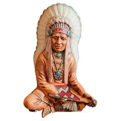 Native American Ceramic Sculpture