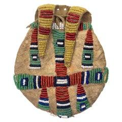 Native American Cheyenne Beaded Charm Bag