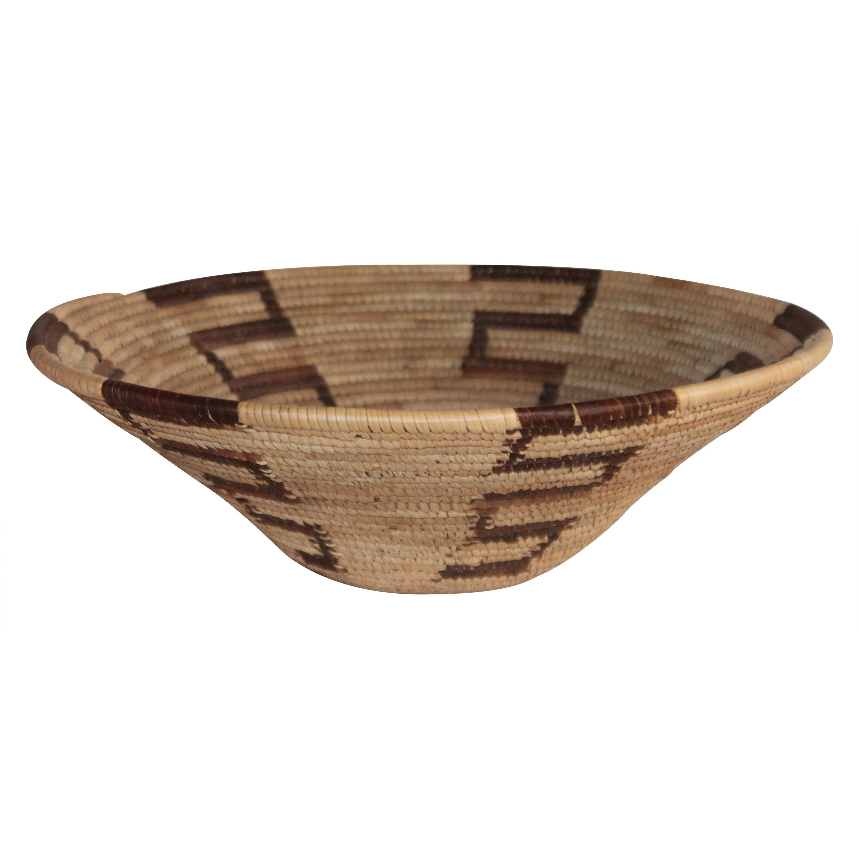 Native American Indian Basket, Papago