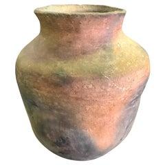 Native American Navajo Hand Built Ceramic Pottery Vase Pot Jar, 19th Century