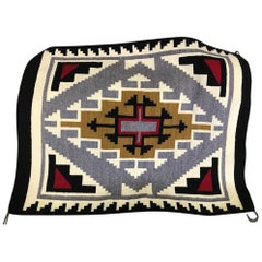 Native American Navajo Handwoven Rug Mat