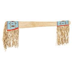 Native Cree Beaded Gun Scabbard