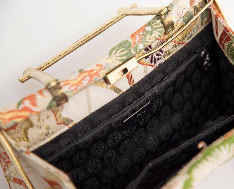 Natori Jacquard Woven Evening Bag For Sale 5