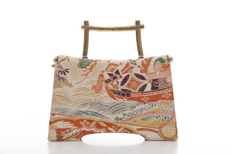 Women's Natori Jacquard Woven Evening Bag For Sale