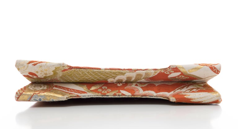 Natori Jacquard Woven Evening Bag For Sale 4