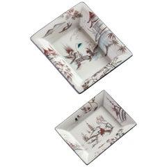 Natsumi, Contemporary Porcelain Pocket Emptier, Two Sizes, by Vito Nesta