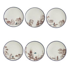 Natsumi Set of Six White Plates