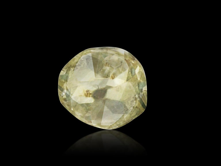 Carat weight: 0.20 carat. Shape: Round. Cut: Old miner. Clarity: SI1. Color: G-H. 100% natural earth unmounted diamond. Old mine cuts, we are talking about diamonds being cut up to 300 years ago. The old mine cut is probably the oldest recognized