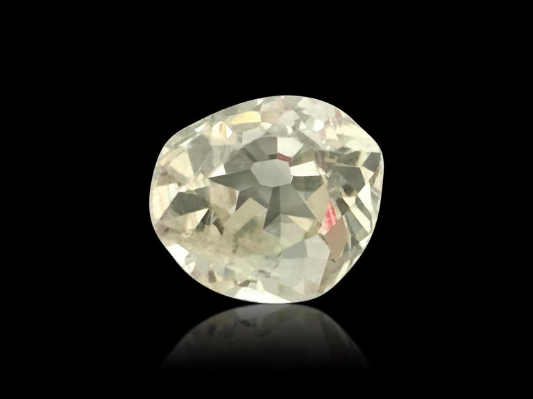 Late Victorian Natural 0.20ct Round Victorian Era Old Miner Loose Diamond For Sale