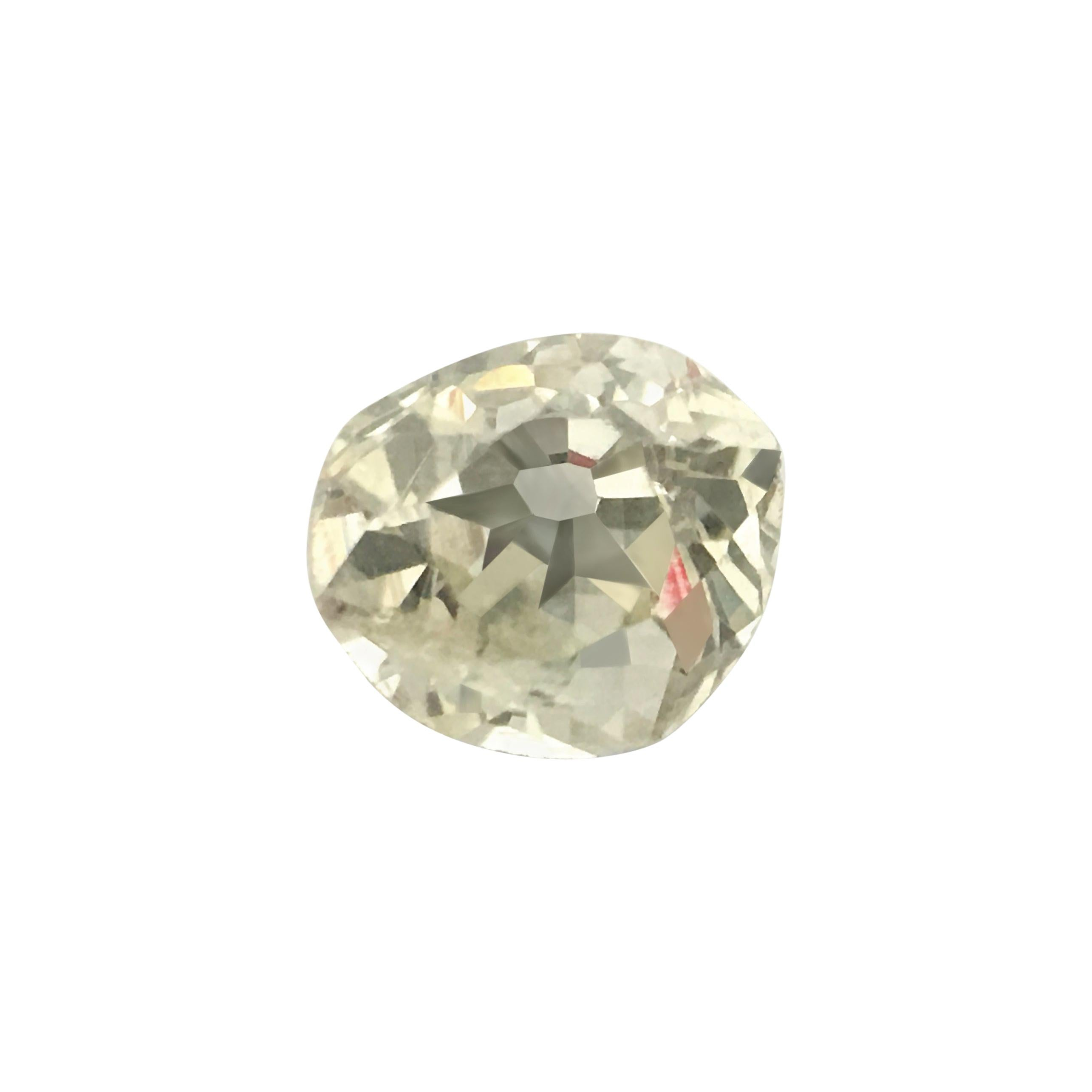 Natural 0.20ct Round Victorian Era Old Miner Loose Diamond