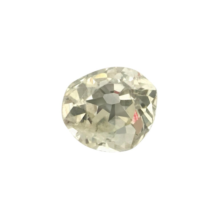 Natural 0.20ct Round Victorian Era Old Miner Loose Diamond For Sale