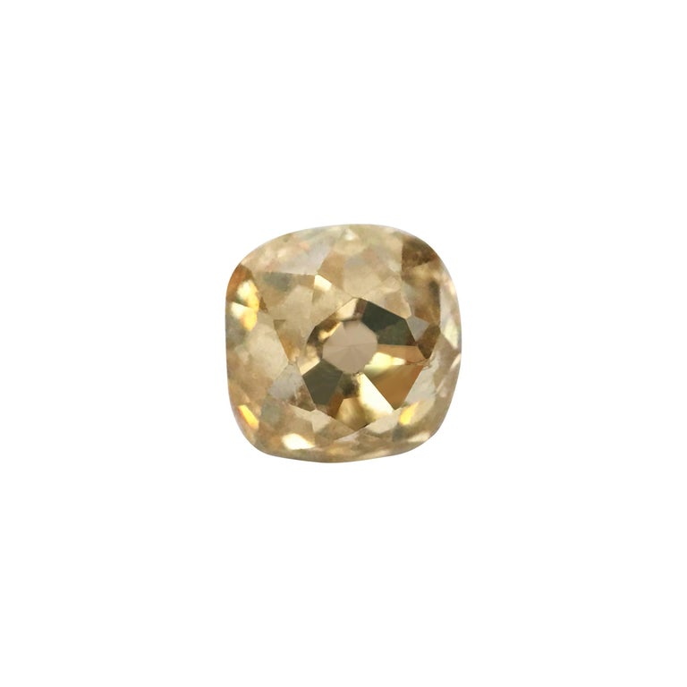 Natural 0.40ct Victorian Era Old Miner Loose Diamond For Sale