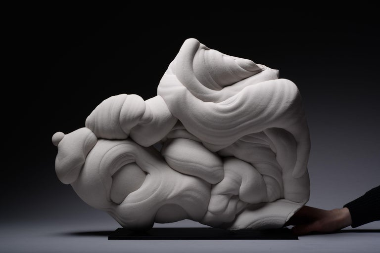 Natural Abstract Sculpture, Rare Sandstone Gogotte Formation For Sale 2