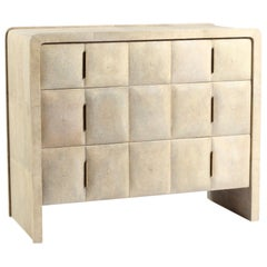 Natural Antique Shagreen Chest of Drawers