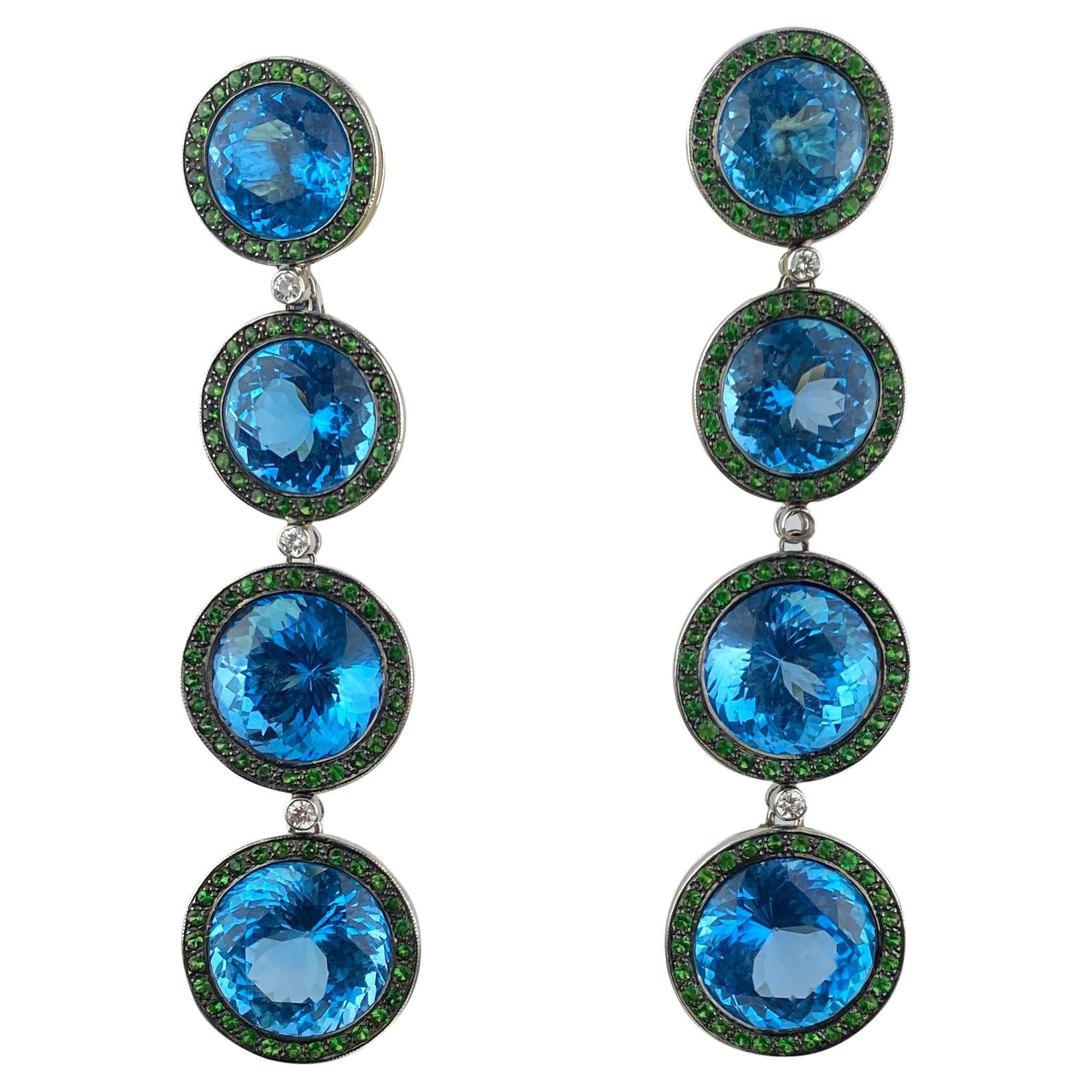 Royaal Stones Ltd Chandelier Earrings
