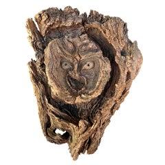 Natural Burl Wood Forest Spirit