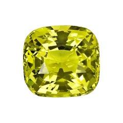 Chrysoberyl Ring Gem 9.42 Carat GIA Certified