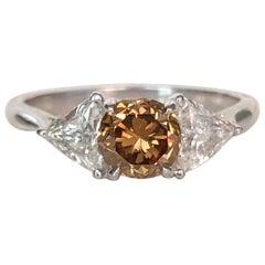 Contemporary Three-Stone Rings