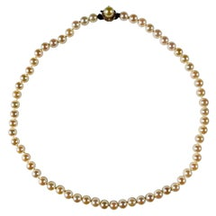 Natural Cultured Pearl Necklace