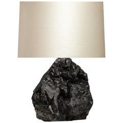 Natural Dark Rock Crystal Lamp by Phoenix
