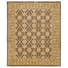 Natural Dye Agra Design Rug, Bliss Collection from Mehraban
