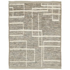 Natural Dye Moroccan Style Rug
