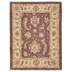 Natural Dye Oushak Design Rug