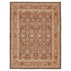 Natural Dye Tabriz Hadji Jalili Style Rug