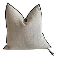 Natural French Linen Pillow