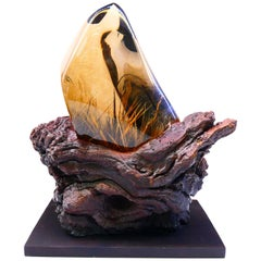 Natural Golden Rutilated Quartz Decoration 3.6kg from an Important Collection