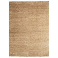 Natural Hand Knotted Spun Nettle Rug by Nani Marquina & Ariadna Miquel, Large