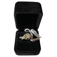 Natural Italian Diamond Ring 3.10ct VV2-VS1