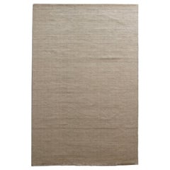 Natural Linen Antibacterial Rug for Modern Houses by Deanna Comellini