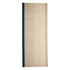 Natural Linen Neutral Tones Rug for Beach Houses by Deanna Comellini