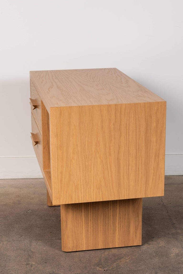 Natural Oak Inverness Nightstands by Lawson-Fenning For Sale 1