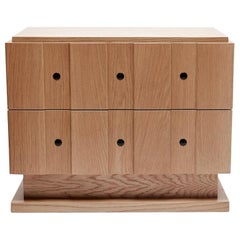 Natural Oak Ojai Nightstand, Large by Lawson-Fenning